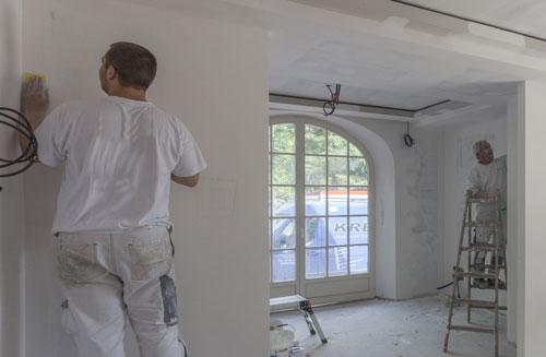 Bekannt Putz- & Trockenbauarbeiten, Schall- & Brandschutz | Maler Faßbender WX01